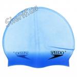 Шапка для плавания Speedo синяя