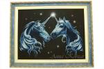 Картина бисером «Единороги»