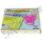 Паззл 3D Cristal Puzzle (сердце)