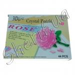 Паззл 3D Cristal Puzzle (роза)