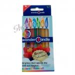 Свечи цветные 6 шт в упаковке