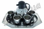 Набор посуды (поднос, чашки, чайник)