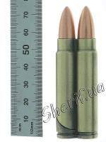 Зажигалка пуля двойная (75 мм)