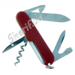 Нож Victorinox Ecoline 2.3803, красный матовый нейлон