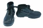 Ботинки 'Профи' мех черный