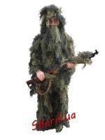 Маскхалат (маскироовочный костюм) Max Fuchs Ghillie камуфляж Woodland