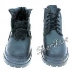 Ботинки Юфть зимние, (кирза + мех)