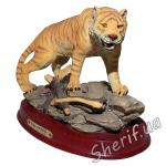 Статуэтка Тигр на подставке Classic Wildlike