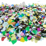 Конфетти 'Цветные сердечки' (фольга), 500 г