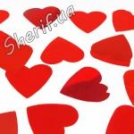 Конфетти 'Красные сердца' (1 кг)