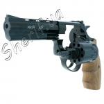 Револьвер под патрон Флобера Profi 4,5'' (бук)Револьвер под патрон Флобера Profi 4,5'' (бук)