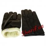 Кевларовые перчатки, черные-3
