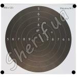 Мишень 480х520 мм №5 Темный круг