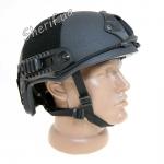 Баллистический кевларовый шлем FAST NIJ IIIA Black (M/L)