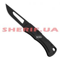 Нож SOG Centi II Back Lock Black