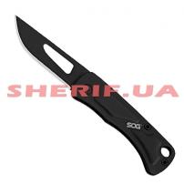 Нож SOG Centi I Slip Joint Black