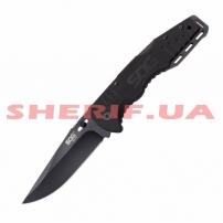 Нож SOG Salute Black TiNi