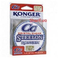 Леска STEELON CRISTAL CLEAR FLUOROCARBON COATED 0.25mm30m KONGER
