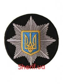 Кокарда Полиция с гербом (круглый)