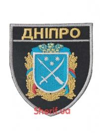 Шеврон полиции Дніпро с липучкой-3