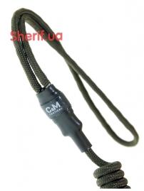 Шнур страховочный HARD комбинир. C&M Olive-3