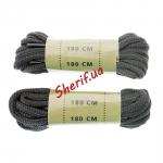 Шнурки черные MIL-TEC 180 см, 12912302