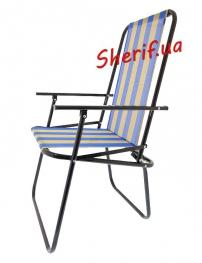 Складной стул Дачный (сине-желтый), 7082