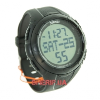 Часы Skmei 1122 Black BOX с шагомером