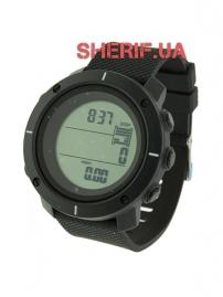 Часы Skmei 1215 Black BOX с шагомером