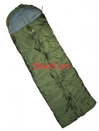 Спальный мешок-одеяло Pinguin Safari 190 зеленый L