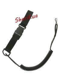 Страховочный шнур пистолетный быстросъемный Black