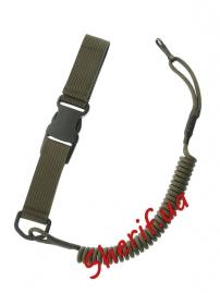 Страховочный шнур пистолетный быстросъемный Olive