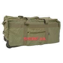 Сумка-рюкзак MIL-TEC на колёсах Olive, 100л