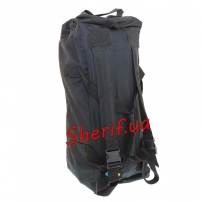 Сумка-рюкзак Arm-tec тк. Оксфорд Black, 70л-3