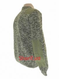 Свитер вязаный камуфлированный-2
