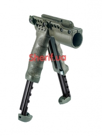 Рукоять тактическая - сошки со встроенным фонарем T-POD SL-2