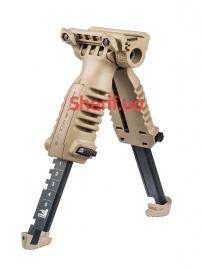 Рукоять с сошками тактическая на цевье T-POD G2 QR-3