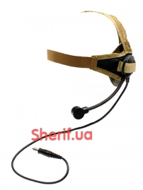 Гарнитура Z Tactical Z028 Headset Military Standard Plug Sand