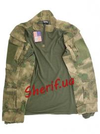 Тактическая полевая рубашка Max Fuchs A-TACS FG-4