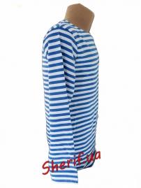 Тельняшка-футболка светло-синяя К-10036 2
