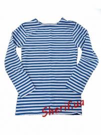 Тельняшка-футболка светло-синяя К-10036 3