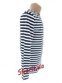 Тельняшка-футболка темно-синяя Ф-10034 3