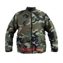 Термо-куртка MIL-TEC двухсторонняя WDL/Black