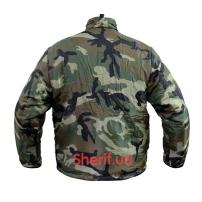 Термо-куртка MIL-TEC двухсторонняя WDL/Black-2