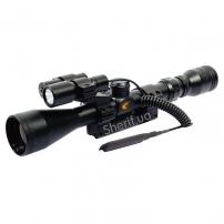 Прицел оптический Gamo Vampir 4х32 фонарь+целеуказ. (VE4x32WRV)