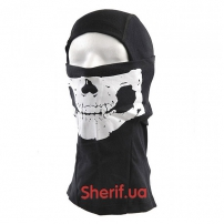 Балаклава с черепом Skull Black