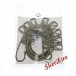 Веревка MIL-TEC бельевая с прищепками, Olive 16019000