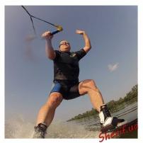 Водные парные лыжи PINNACLE-8