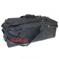 Военная сумка-рюкзак Black транспортировочная, 85л-3