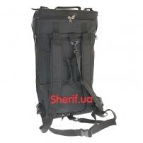 Военная сумка-рюкзак Black транспортировочная, 85л-5